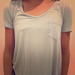 Hollister baby blue T-shirt!!